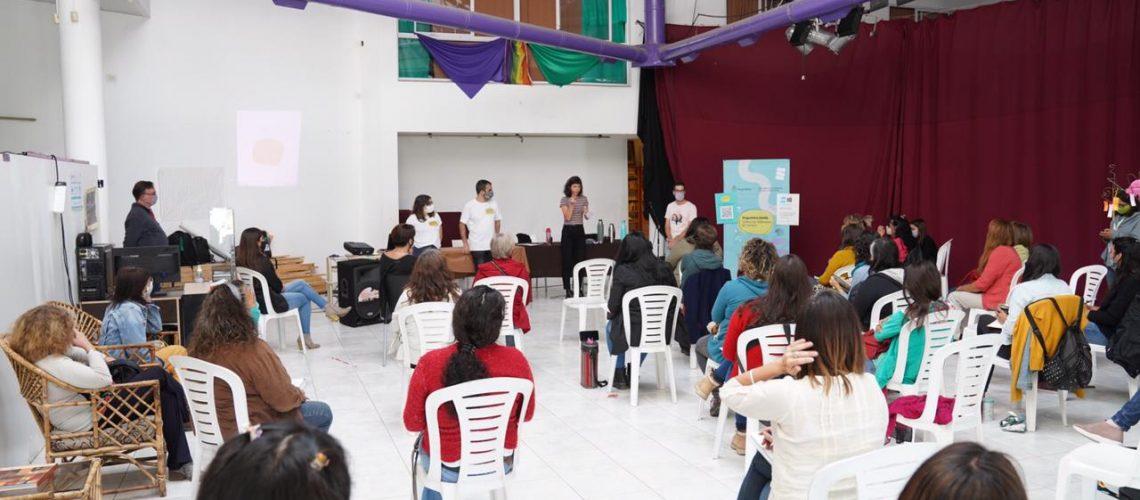 capacitacion argentina unida contra las violencias